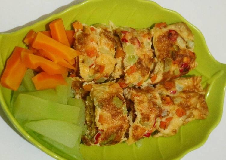 Omlete sayur simpel #Bikin RamadanBerkesan