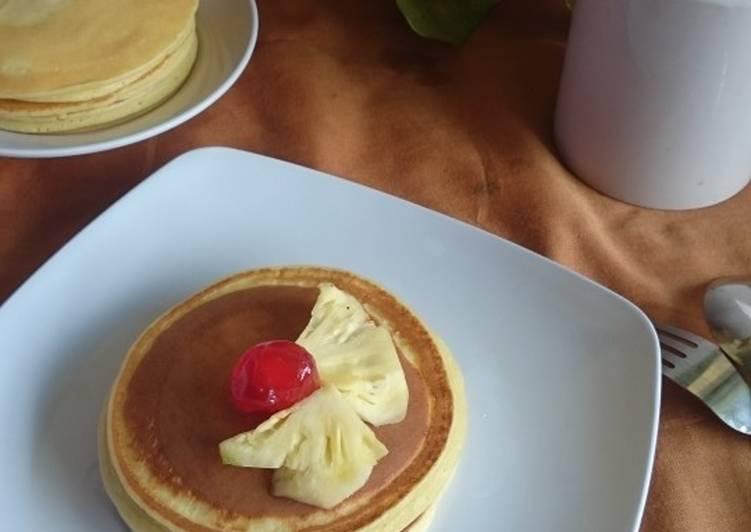 Pancake Buttermilk ala ala (Ramadan 5)