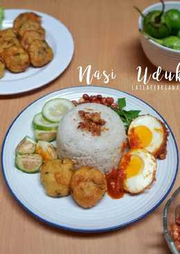 Nasi uduk rice cooker super gampil (#pr_BukanNasiBiasa)