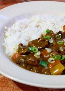 Nasi Curry Daging ala Jepang