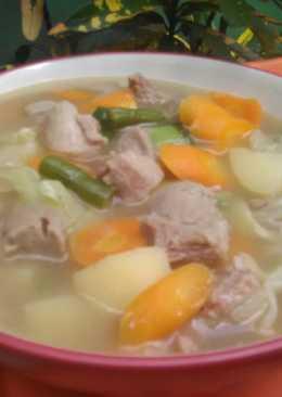 Sop daging n baso sapi