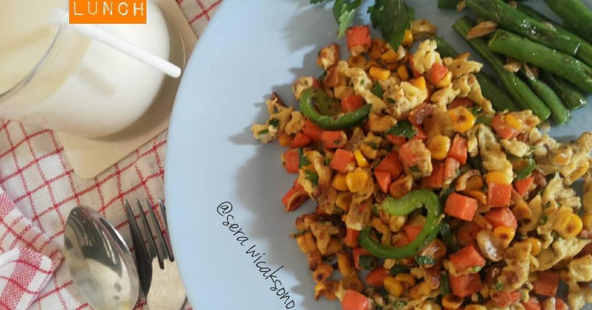 89 Resep Menu Makan Siang Diet Enak Dan Sederhana Cookpad
