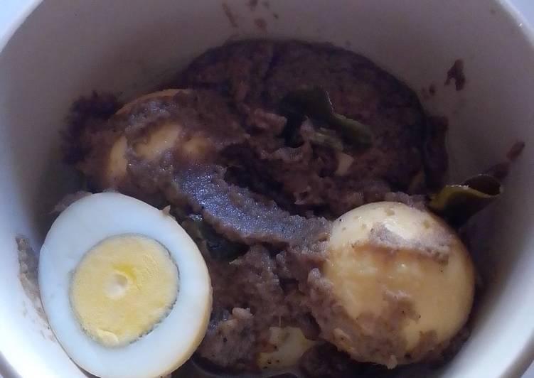 Rendang telur simple #RabuBaru #BikinRamadanBerkesan