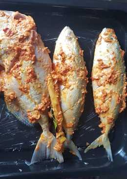 Ikan kembung bakar