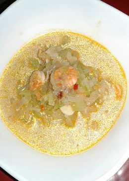 Sambal goreng udang labu siam
