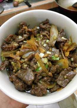 Beef Teriyaki simple dan empuk