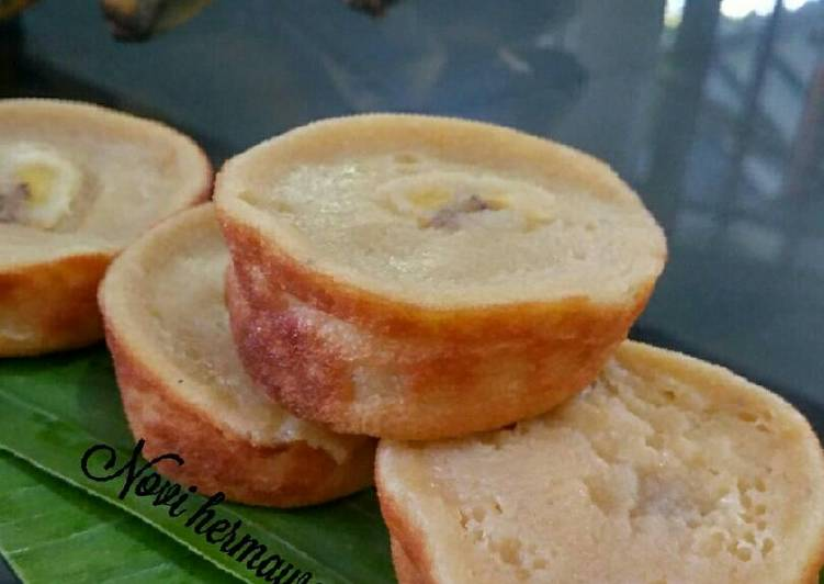 kue lumpur pisang banjar