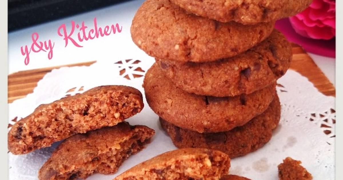 Resep Super crunchy choco chip cookie