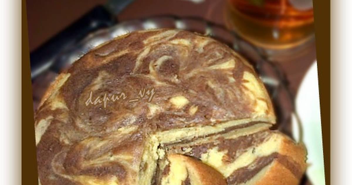 Resep Marmer Cake Tape Singkong Magicom