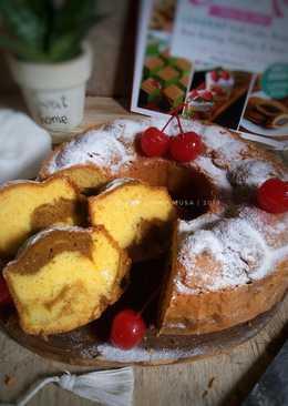 Vanilla Mocca Marble Cake