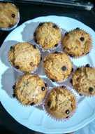 Banana muffin kukus