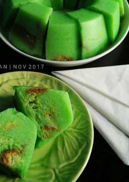 Pudding Roti Coco Pandan
