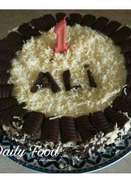 2666 resep kue ultah coklat sederhana enak dan sederhana Cookpad