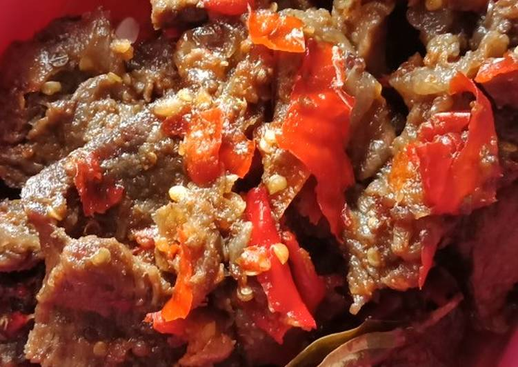 Resep Balado Daging Oleh Tiyas