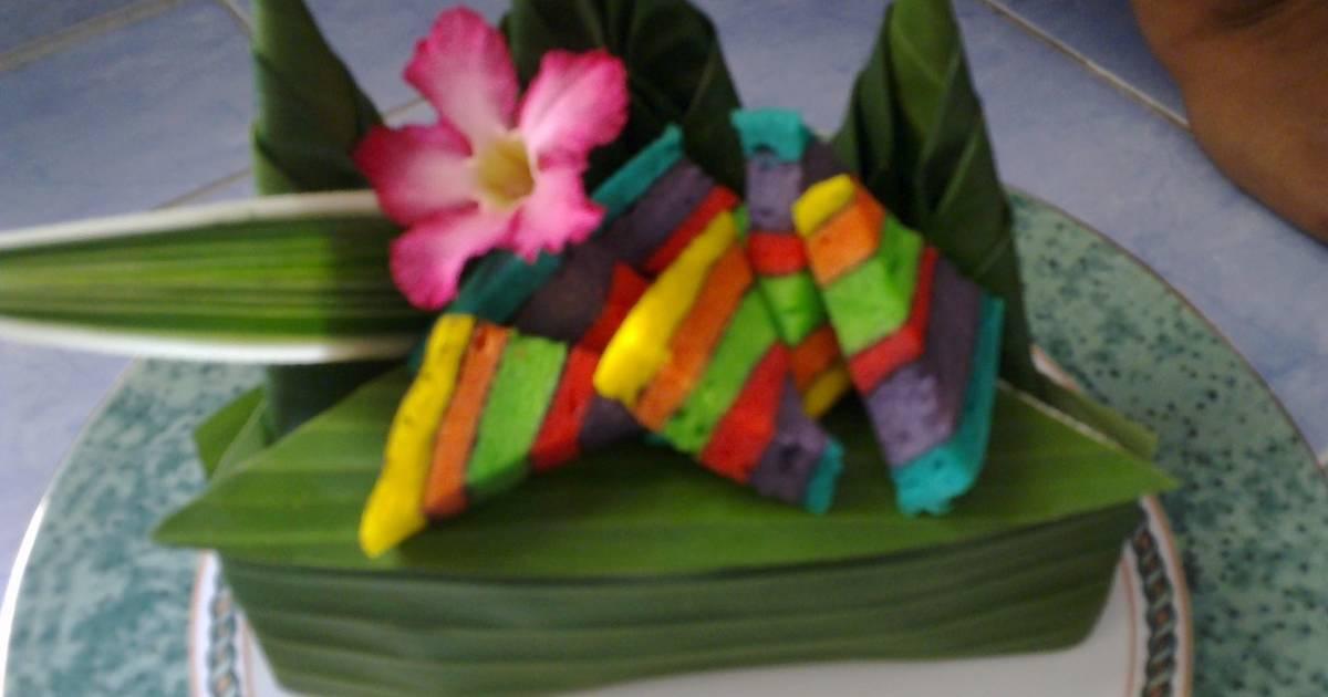 Resep Lapis Legit Kukus Rainbow