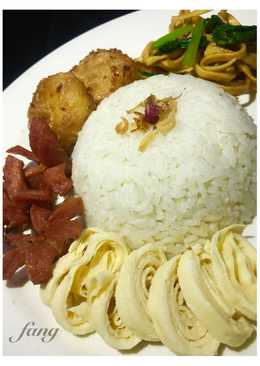 Nasi Uduk simple & kilat pake magic com