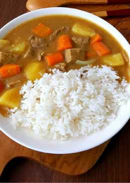 Japanese curry simple