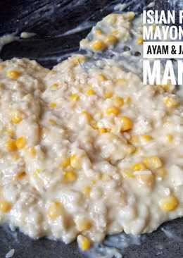 Isian Risol Mayonaise Ayam & Jagung Manis