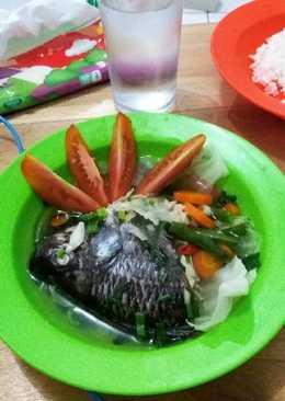 Sop ikan nila sederhana