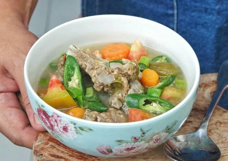 Image result for Sup Iga Belimbing Sayur
