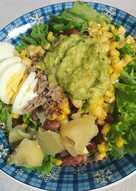 Salad sayuran with homemade dressing