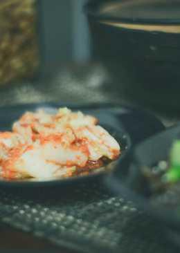 Kimchi simple dengan Cuka Apel