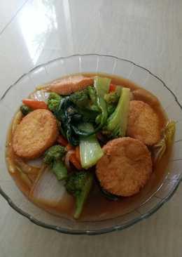Egg tofu sayur mayur