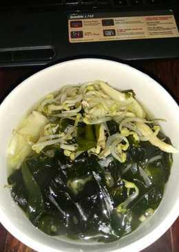 Sayur Bening Rumput Laut