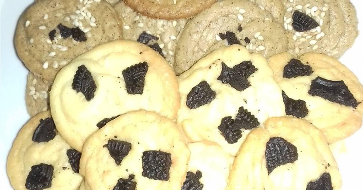 Resep Cookies putih telur rasa keju dan kopi
