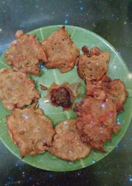 Pakora india simple with curry