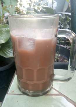 Milk shake pop ice
