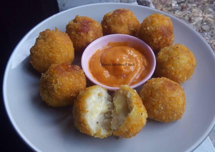 Chicken Cheese Ball (bola ayam keju) #BikinRamadanBerkesan