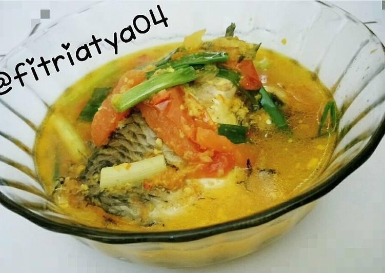 bapak masak  memasak ikan mas Resepi Ikan Kembung Bumbu Kuning Santan Enak dan Mudah