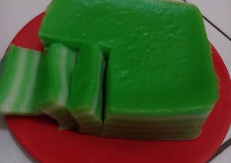 Resep Kue Lapis Tepung Beras Simple Karya Bunda Fahlevi