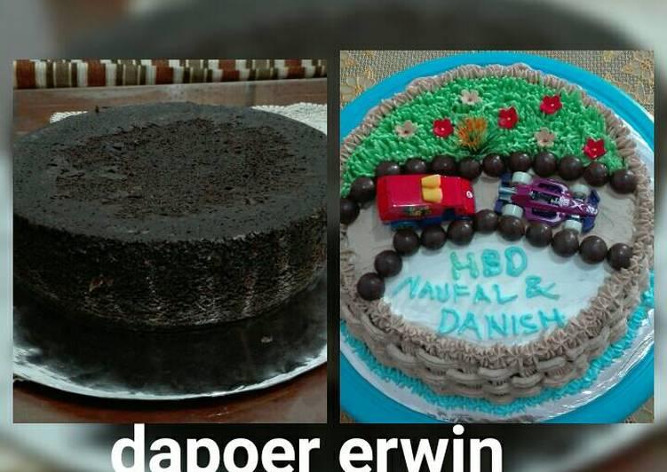 Resep Brownies kukus basic kue tart Karya Erwin Tyas
