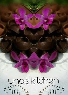 Dark chocolate praline