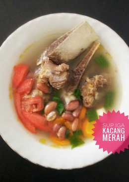 Sup Iga Kacang Merah #seninsemangat