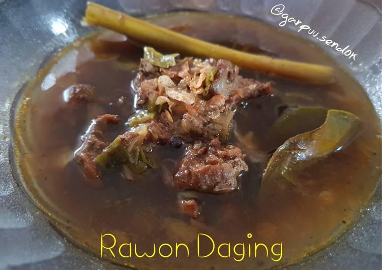 Rawon Daging foto resep utama
