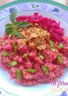 Nasi goreng buah naga (dragon fried rice)