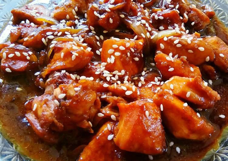 Resep Chicken Teriyaki Simple Cepat Oleh Viana Rheinata
