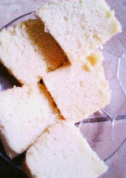 Vanilla spongecake lembut tanpa emulsifier