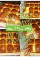 Roti sobek kriuk2 isi coklat&keju mozarella berserat&lembut