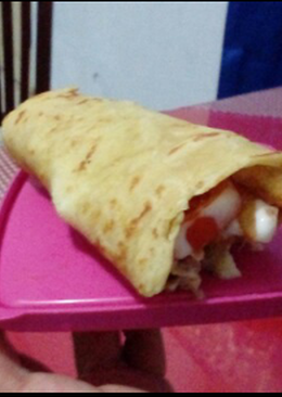 Chicken Shawarma with French Fries / Kebab
