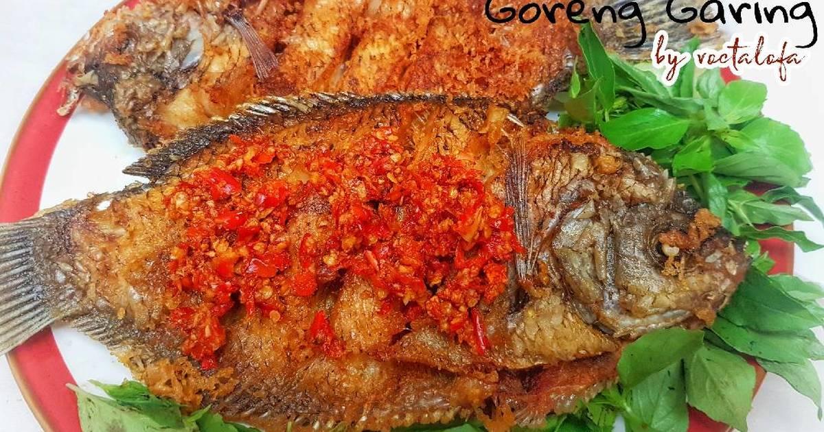 Resep Ikan Goreng Garing Dan Renyah