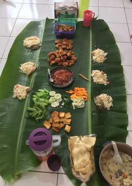 Nasi liwet mentega rice cooker