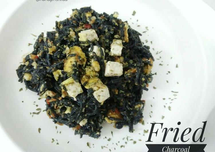 Resep MPASI 11m+ - Fried Charcoal Misoa