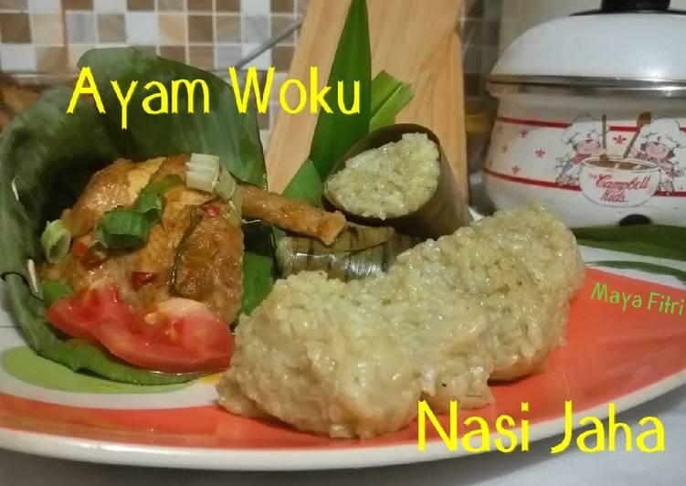 Nasi Jaha ft Ayam Woku