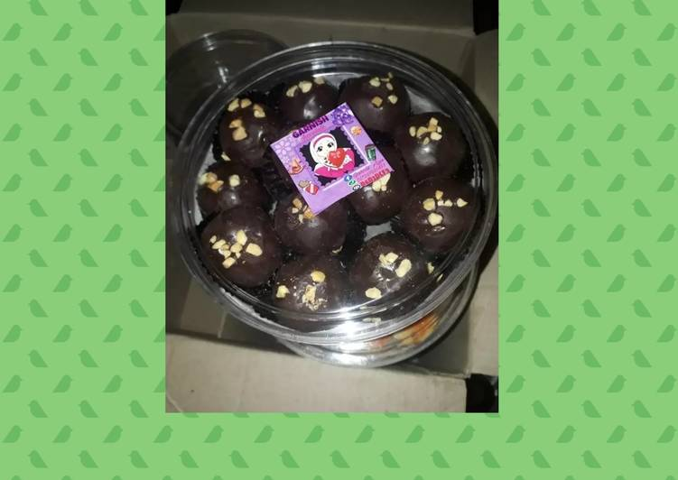 Nastar Celup Coklat #BikinRamadanBerkesan
