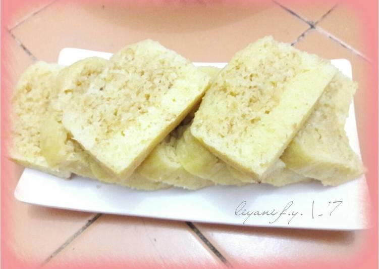 gambar untuk resep Steamed Oat Cheese Cake