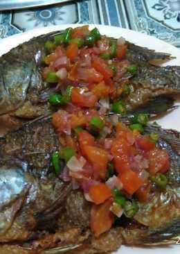 Ikan mujair sambal dabu2